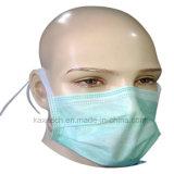 Maschera di protezione sopra non tessuta chirurgica con il legame