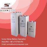 Перезаряжаемые свинцовокислотные батареи Opzv геля 2V 3000ah трубчатые для системы PV солнечной