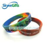 Bracelet personnalisé de silicones de camouflage pour la relaxation