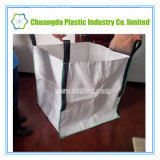 Lato-Aggraffare sacchetto tessuto massa di FIBC pp il grande con la parte inferiore piana