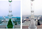Hbking K7 새로운 디자인 유리제 수관, 흡연 관, 도매 공장을%s 연기가 나는 수관