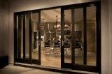 A porta interior padrão personalizada da casa projeto moderno calcula as dimensões da porta de alumínio