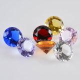 8PCS/Set 30mm de MultiPresse-papier van de Diamant van het Kristal van de Kleur, de Giften van de Verjaardag