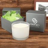 Vela orgánica del masaje de la cera de la soja de Aromatherapy Skincare de 3 fieltros