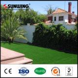 SGS 세륨과 함께 이용되는 정원 훈장 반대로 UV 녹색 가짜 인공적인 잔디