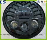 7 인치 지프 논쟁자 Jk Tj Yj를 위한 둥근 LED 헤드라이트 램프