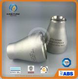 Engodo do redutor do aço inoxidável de ASME B16.9. Encaixe de tubulação dos Ss (KT0318)