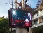 Alto colore completo esterno di luminosità P10 che fa pubblicità allo schermo del LED