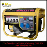 2000W 220V 50Hz Gx160 Engine Gasoline Generator