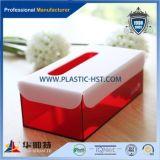 Верхняя продавая акриловая коробка ткани