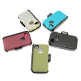 iPhone 4Sのための三重の擁護者の携帯電話の箱を着色しなさい