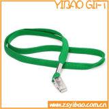 플라스틱 클립 (YB-LY-30)를 가진 편평한 방아끈을 광고하는 관례