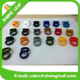Personifizierte Form, die bunte Silikon-Finger-Ringe (SLF-SR016, bekanntmacht)