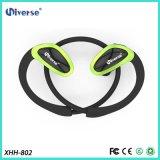Deportes estéreos sin hilos ligeros que funcionan con los receptores de cabeza de los auriculares del auricular de Bluetooth