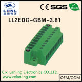 Ll2edg-Gbm-3.81 Pluggable 끝 구획 연결관