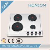 Quattro Burners Electric Hotplate con Ce