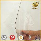Feuille en plastique mince de PVC pour la partie de guichet