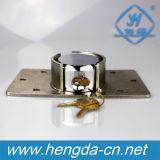 Cadeado escondido do grilhão do disco do hóquei da alta qualidade 73mm fechamento de aço redondo (YH9600)