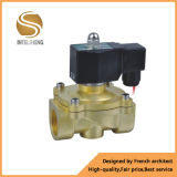 Válvulas de solenóide de bronze da água/gás