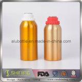 750ml опорожняют алюминиевую бутылку оливкового масла