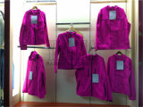 AC Coatingの女性のFashion Windbreaker Jacket