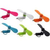 Fabrik-preiswertester Preis Mini-USB-Ventilator 2 Ventilator USB-In1