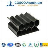 Черное окисляя алюминиевое штранге-прессовани для оборудования машинного оборудования (ISO9001/16949)