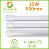 Fácil reemplazo de la lámpara de T8 LED con lastre compatible
