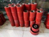 60mm Red PU Forklift Caster Wheel