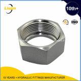 Noix Hex hydraulique de Bsp d'acier du carbone
