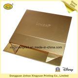 Твердая коробка подарка бумажной коробки с цветом золота (JHXY-PB0004)