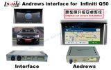 Caixa Android para o melhoramento 2014-2016 de Infiniti Q50/Q50L/Q60 com ligação do espelho, tela da relação da navegação do GPS do molde, WiFi
