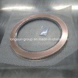 Marqueterie de cuivre argentée d'argent de bande de contact de Trimetal