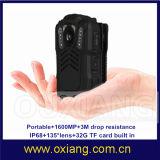 mini macchina fotografica portatile della polizia DVR del registratore di applicazione della polizia di visione notturna di 4G WiFi