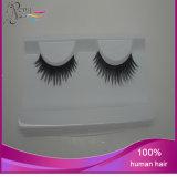 Cils faux d'extensions de cheveux humains de 100%