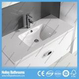 Do projeto elevado moderno novo da unidade do gabinete do banho da pintura de lustro do interruptor do toque do diodo emissor de luz mobília nova do banheiro do estilo (BF132M)