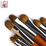 щетка состава волос профессиональной высокосортной косметической ручки инструмента 30PCS деревянной естественная