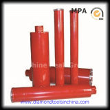 Diamante Core Drill Bits per Concrete Drill e Concrete con Steel, Wall, Glass, Ceramic ecc