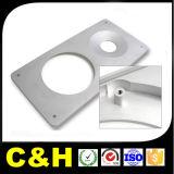 Peça de trituração de alumínio do CNC da parte
