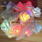 3meter 20 de Fee LED String Lights Wedding Party Christmas Decoration van LED Rose Flower RGB