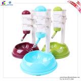 Macchina di plastica automatica dell'alimentatore della fontana e dell'acqua dell'alimento per animali domestici per il cane 500ml