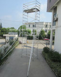 RepairmentのためのSGSの公認10m移動式アルミニウム足場