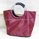 صنع وفقا لطلب الزّبون ترويجيّ وقت فراغ حمل شاطئ حقيبة مع ألومنيوم مقبض مستديرة