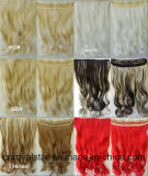 Jungfrau Remy Wavy Extension Hair und Klipps in Hair Extension