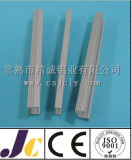 Fornecedor profissional do perfil de alumínio da extrusão com dobra (JC-W-10038)