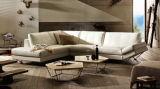 거실 Couch를 위한 현대 Leather Sectional Corner Sofa