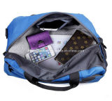 blaues Outdoor Sport Travelling Carry Shoulder Bags