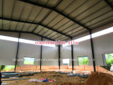 建築現場の暖房そして力のための鉄骨構造のプラント