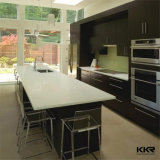 Bancada Prefab de quartzo da cozinha do tamanho feito sob encomenda do preço
