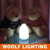 熱い販売LEDの卵ライトクリスマスLEDはLEDの卓上スタンドをつける